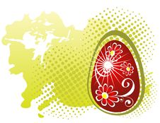 Free Red Easter Egg Royalty Free Stock Photo - 8557335