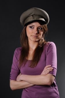 Free Army Girl Stock Photo - 8557460