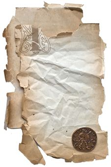 Free Old Paper Background Stock Image - 8557521