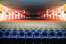 Free Cinema Interior Stock Photo - 8557530