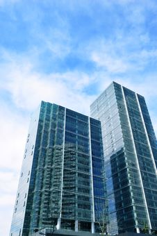 Free Glass Building Royalty Free Stock Images - 8557559