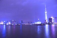 Free Night View Of City Stock Photos - 8557653