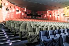 Free Cinema Interior Royalty Free Stock Image - 8557696