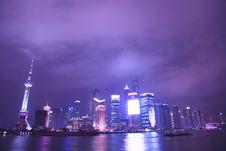Free Night View Of City Stock Photos - 8557833