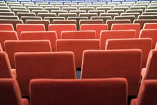 Free Cinema Interior Royalty Free Stock Photography - 8557847
