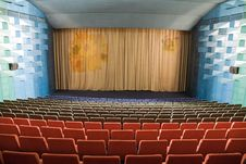 Free Cinema Interior Royalty Free Stock Image - 8557916
