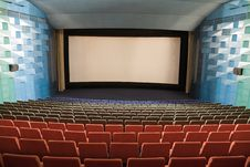 Free Cinema Interior Stock Image - 8557991