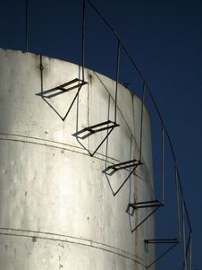 Free Fuel Storage Tank Stock Photography - 8558722