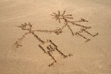 Free Image On The Sand Stock Photos - 8559043