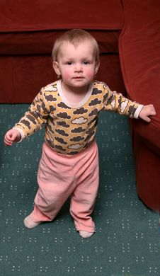 Free Small Baby Girl Stock Photo - 8559120
