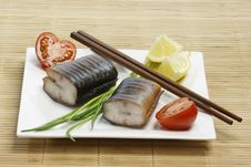 Free Eel Appetizer Royalty Free Stock Photo - 8559455