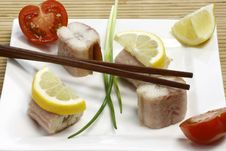 Free Fish Appetizer Royalty Free Stock Photos - 8559498