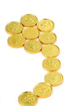Free Gold Coins Royalty Free Stock Image - 8559776