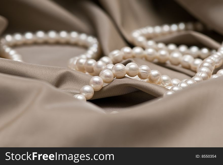 Beads of pearl