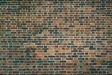 Free Old Wall Of Red Bricks. Wallpaper Of Ordinary Building Wall Texture. Royalty Free Stock Images - 85517869