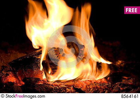 Free Fire Flame Stock Image - 8564161