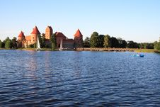 Free Castle In Lithuania Royalty Free Stock Images - 8560389
