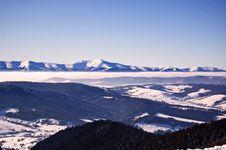 Free Winter Mountains Royalty Free Stock Photo - 8560445