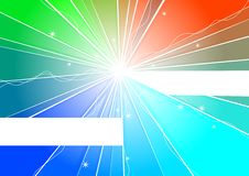 Color Banner Stock Photo