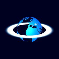 Abstract Globe Royalty Free Stock Photos