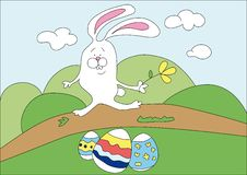 Free Easter Rabbit Royalty Free Stock Image - 8561226