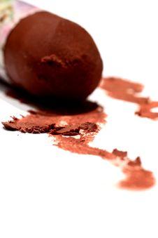 Free Chocolate Crayon 2 Stock Photos - 8561993
