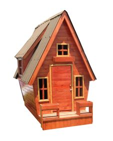 Free Children S Wooden House Stock Image - 8562131