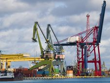 Free Container Terminal Stock Images - 8562364