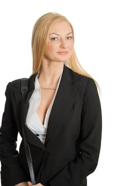 Free Portait Of Pretty Businesswoman Royalty Free Stock Image - 8563006