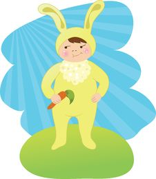 Free Easter Bunny Royalty Free Stock Photos - 8564528