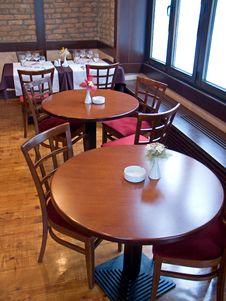 Free Tables In Italian Restaurant Royalty Free Stock Photos - 8564668