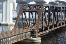 Free Rail Road Bridge Royalty Free Stock Photos - 8565028