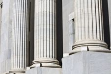 Free Detail Image Of Greek Pillars Royalty Free Stock Photo - 8565265
