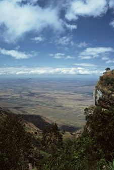 Free View Into Plains,Tanzania Royalty Free Stock Photography - 8565547
