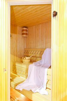 Free Inside Sauna Royalty Free Stock Photos - 8566448