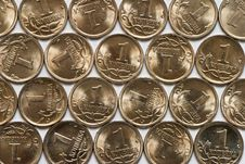 Free Cheapest Russian Coins Stock Image - 8566801