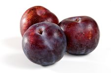 Free Three Plums Stock Images - 8566934