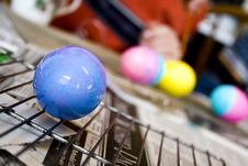 Free Dying Easter Eggs Stock Photography - 8567142