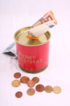Free Christmas Savings Royalty Free Stock Photo - 8567395