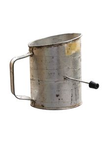 Free Old Fashioned Flower Sifter Royalty Free Stock Image - 8567636