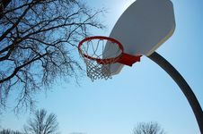 Free Basketball Hoop Royalty Free Stock Photo - 8567755