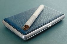 Free Russian Cigarette Stock Image - 8567811