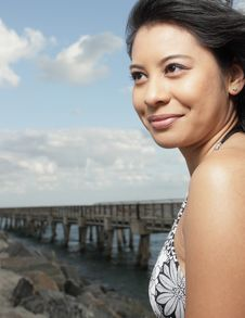 Free Young Woman Smiling Stock Photo - 8568460