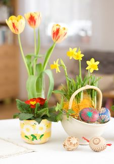 Free Easter Setting Stock Image - 8568611