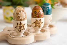Easter Setting Stock Photo