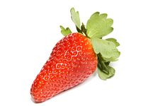 Free Strawberry Isolated On White Royalty Free Stock Photography - 8568847