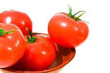 Free Tomato In Bowl Half Royalty Free Stock Photo - 8569055