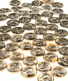 Free Many Coins Stock Photography - 8569352