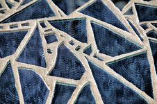 Free Blue Broken Glass Stock Photography - 8569462