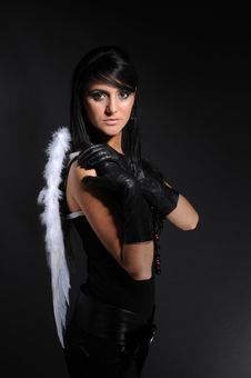 Free Not An Angel Stock Photography - 8569892